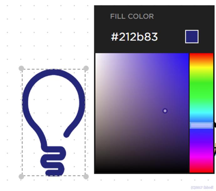 ロゴの色指定